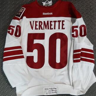 Antoine Vermette game worn playoffs